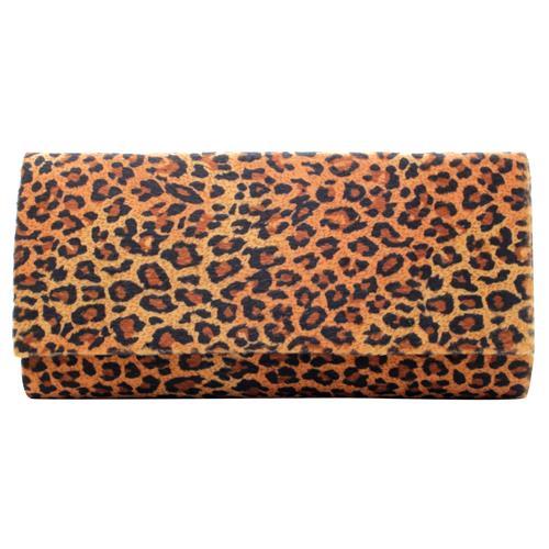 1983f0396 Bolsa clutch animal print 10293900