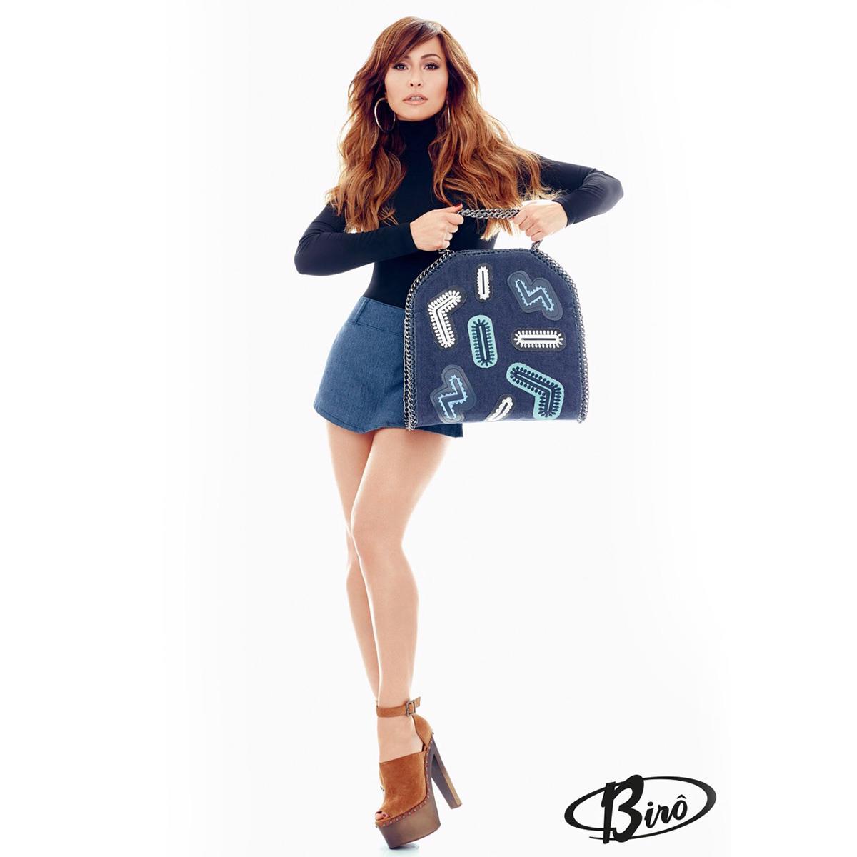 0023d411a2397 Bolsa Jeans Sabrina Sato 10650019